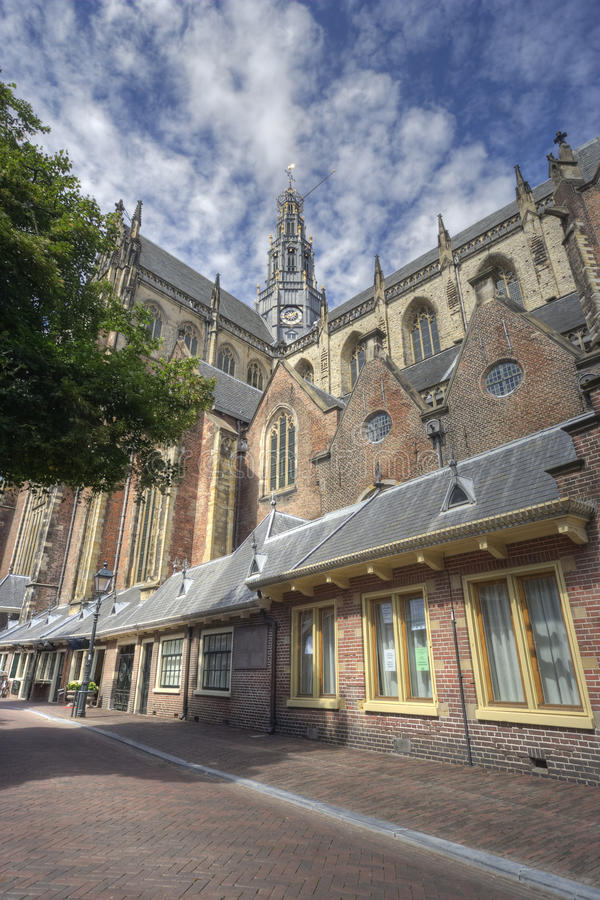 Free Church Of Haarlem, Holland Stock Images - 16654054