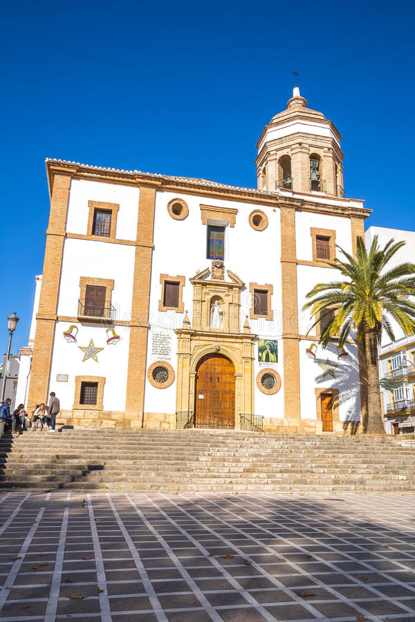 Free Church Of Ronda, Malaga, Spain Royalty Free Stock Images - 82307819