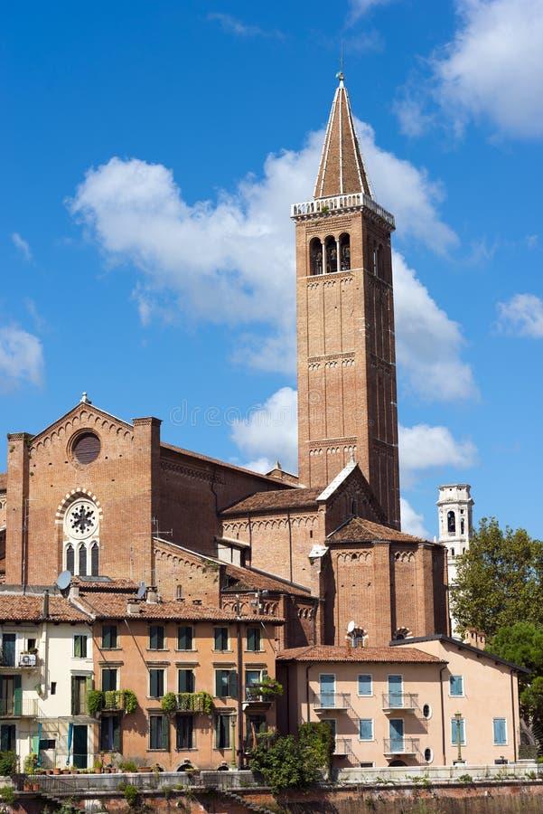 Free Church Of Santa Anastasia - Verona Italy Stock Images - 44482744