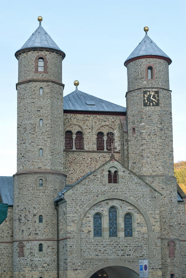 Free Church Of St. Chrysanthus And Dariain Bad Muenstereifel Royalty Free Stock Image - 29102816