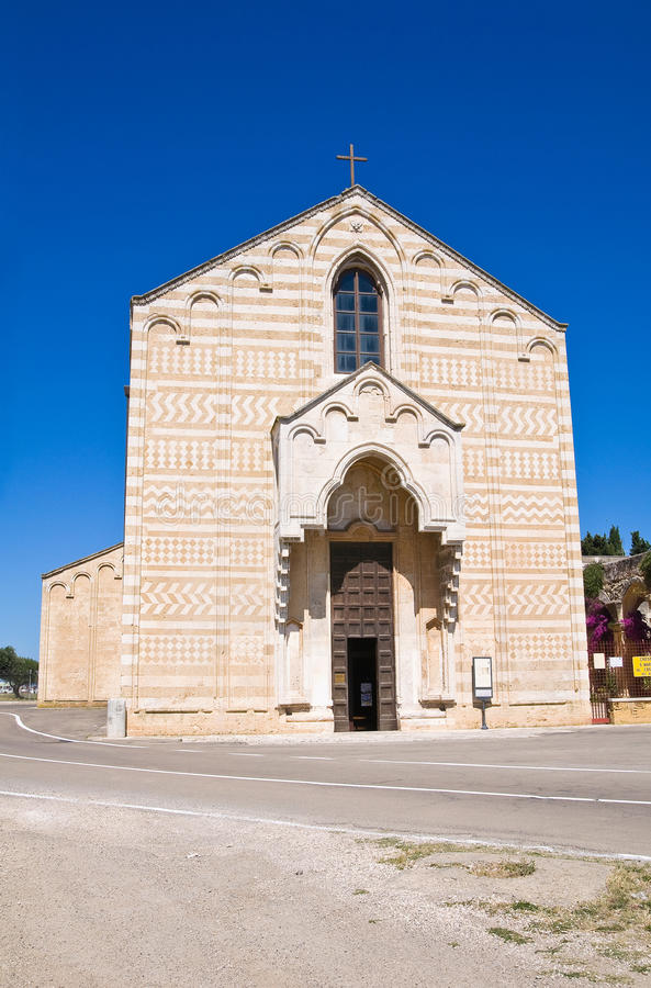 Free Church Of St. Maria Del Casale. Brindisi. Puglia. Italy. Royalty Free Stock Photos - 32130158