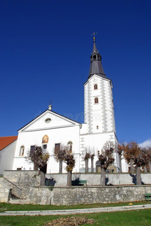 Free Church Of The Annunciation In Klanjec, Croatia Royalty Free Stock Photography - 177117177