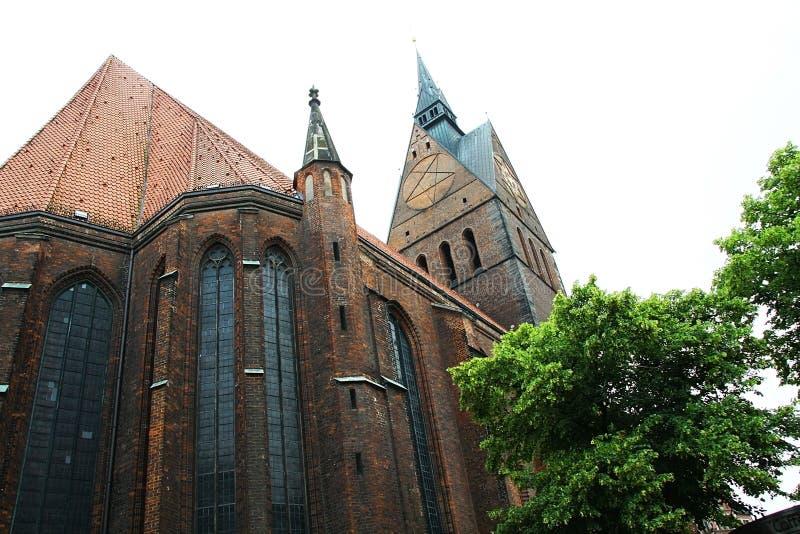 Church old city Germany stock photos