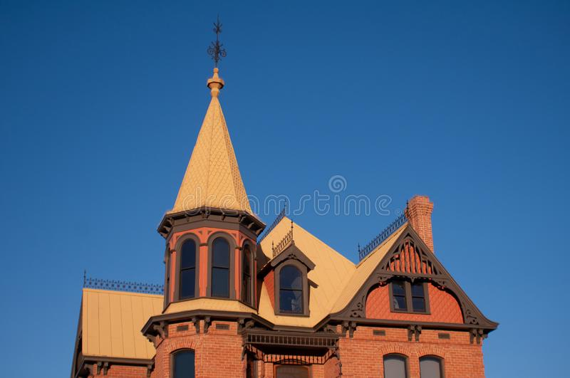 Church in Old Town Hall, Phoenix, Arizona, United States of America, North America. Old Town is considered the birthplace of modern California royalty free stock photo
