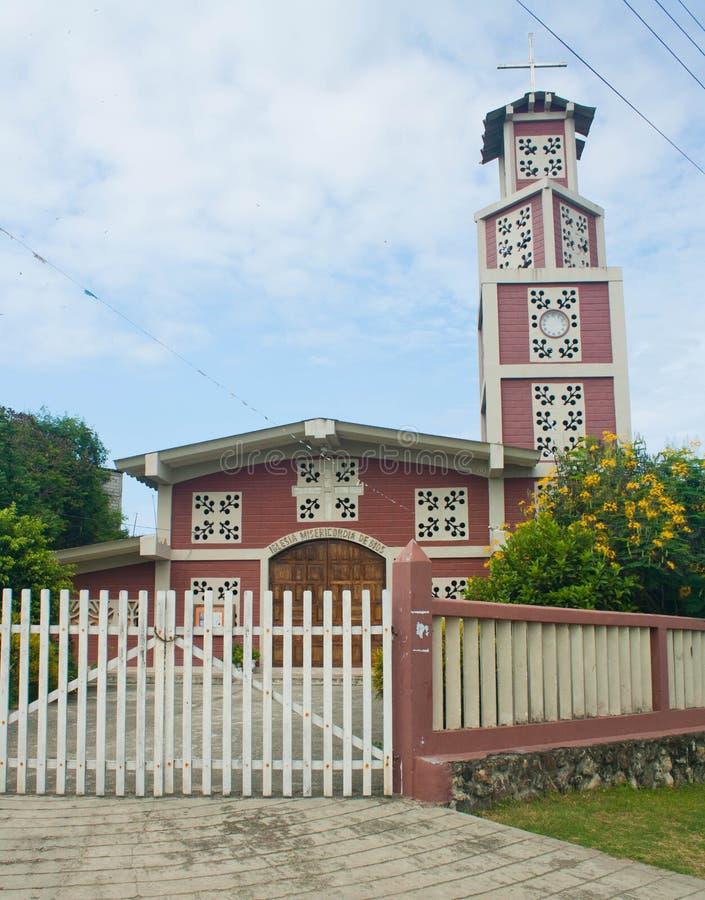 Church in Olon Ecuador