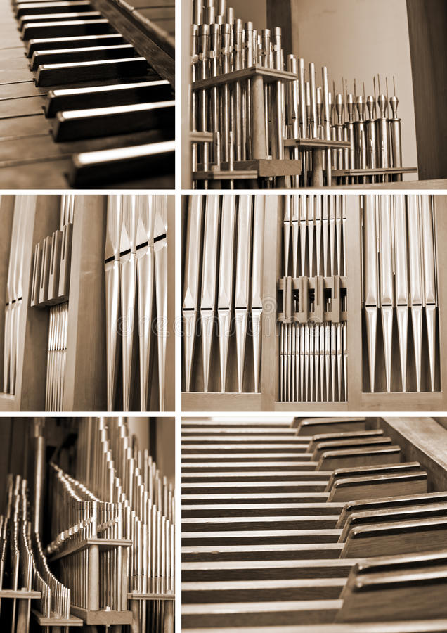 Download Church organ stock photo. Image of collage, group, musical - 23849144
