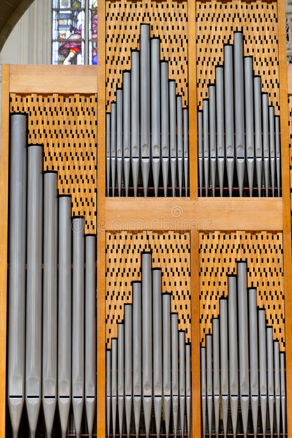Download Church organ stock photo. Image of view, instrument, equipment - 25171852