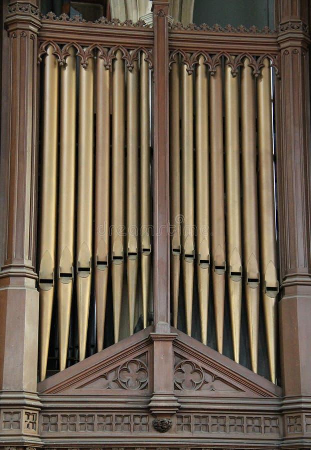 Church Organ. stock photography