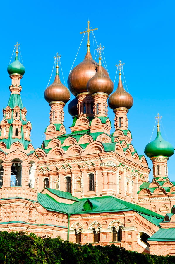 Church in Ostankino stock image