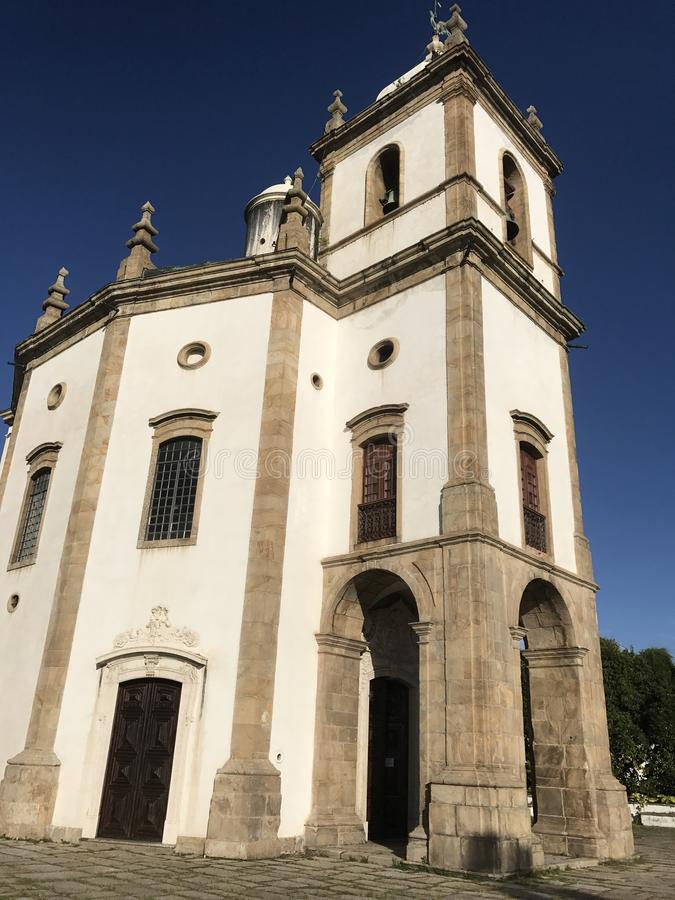Church of Our Lady of Glory of Outeiro stock photos