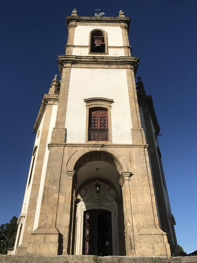 Church of Our Lady of Glory of Outeiro stock photography