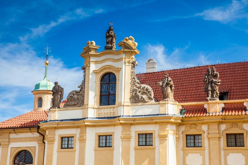 The Church of Our Lady of Loreto in Prague royalty free stock photos