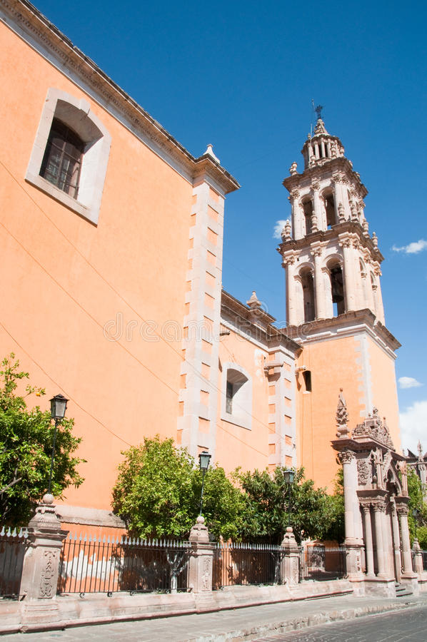Download Church Of Our Lady Of Solitude, Jerez (Mexico) Stock Image - Image: 24275613