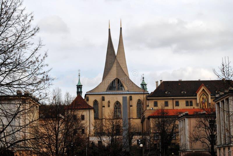 Roman Catholic Church in Prague royalty free stock photography