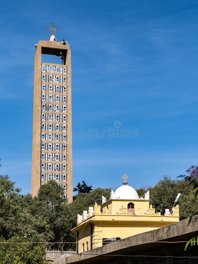 Church of Our Lady St. Mary of Zion Axum, Ethiopia. royalty free stock photos