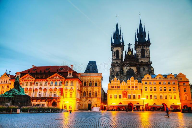 Download Church Of Our Lady Before Tyn In Prague At Sunrise Stock Image - Image: 29030175