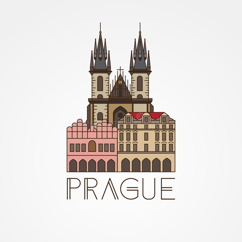 Church Of Our Lady Before Tyn The Symbol Of Prague Czech Republic