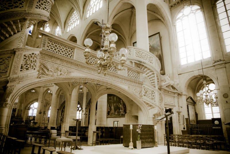 Church In Paris Stock Images