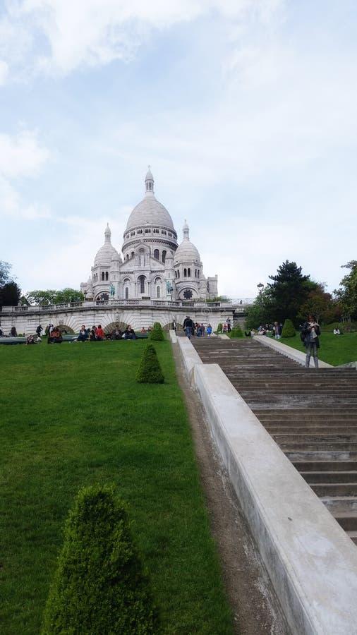 Church in Paris stock photos