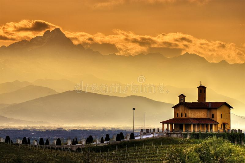 Mondovi And The Alps Stock Photo Image Of Hill Landscape