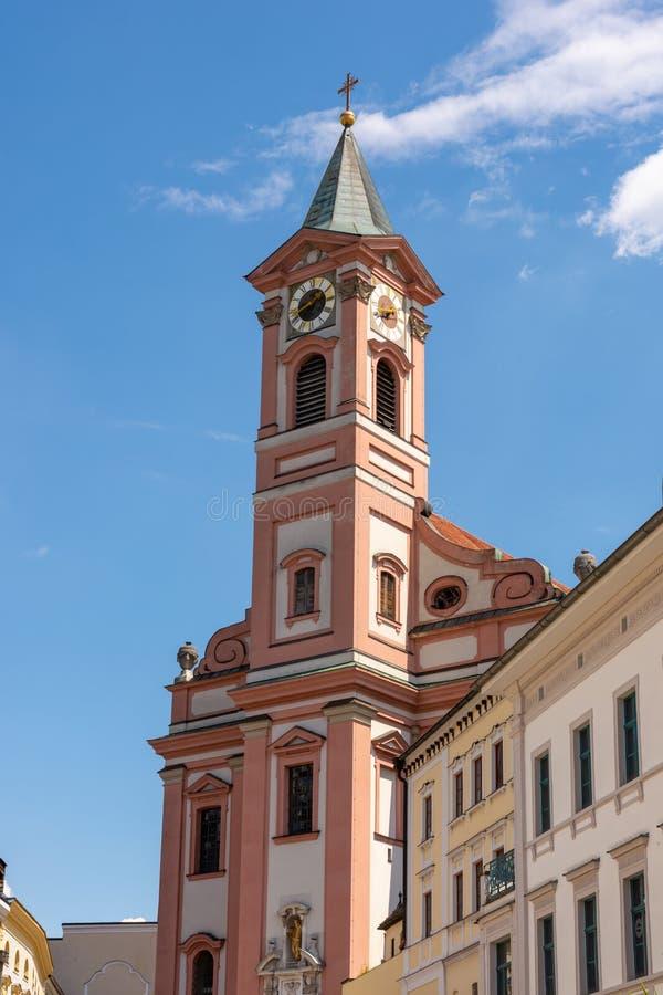 Church in Passau stock photos