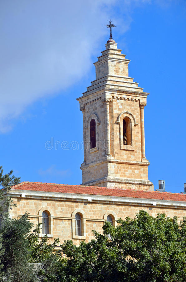 Download Church of the Paternoster stock image. Image of tower - 27899451
