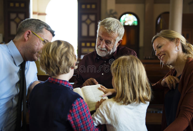 Church People Believe Faith Religious stock images
