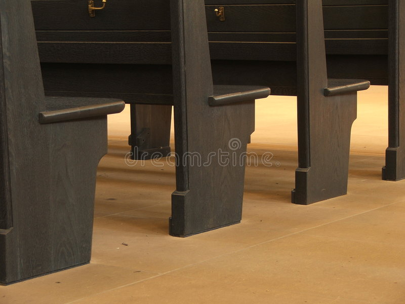 Church Pews Stock Images