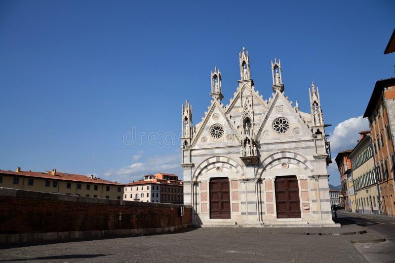 Church in Pisa, Italy stock photo