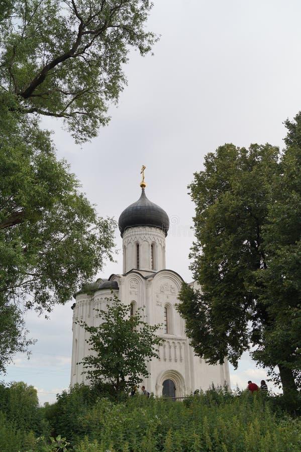 Church Pokrova na Nerli royalty free stock images