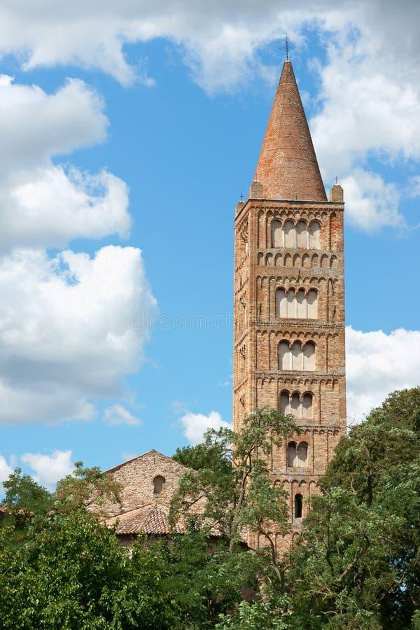 Church of Pomposa Abbey royalty free stock photos