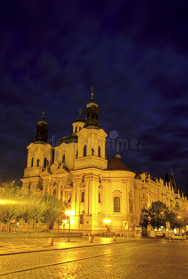 Church- Prague, Czech Republic royalty free stock photos