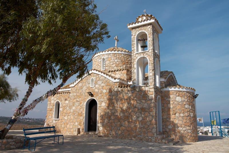 Church of Profitis Elias stock photos
