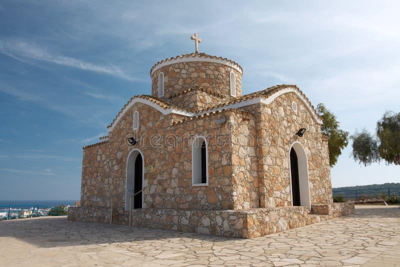 Church of Profitis Elias stock images