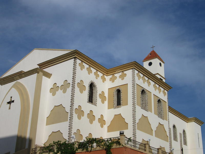 Church in Puerto Ordaz , Venezuela royalty free stock photo