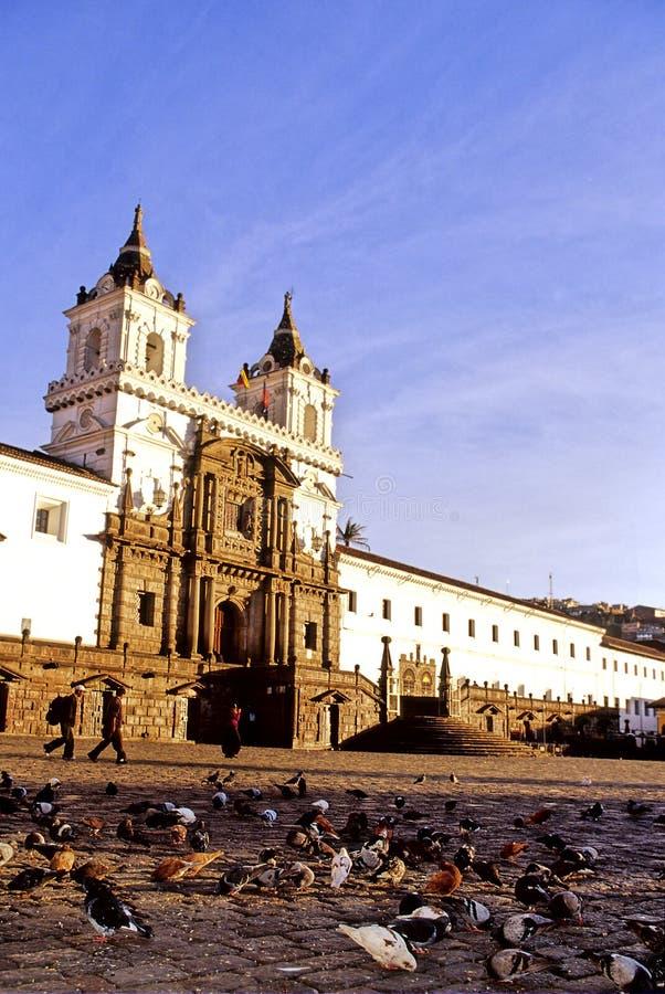 Church- Quito stock image