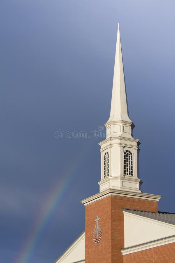 Free Church Rainbow Stock Photo - 11537040