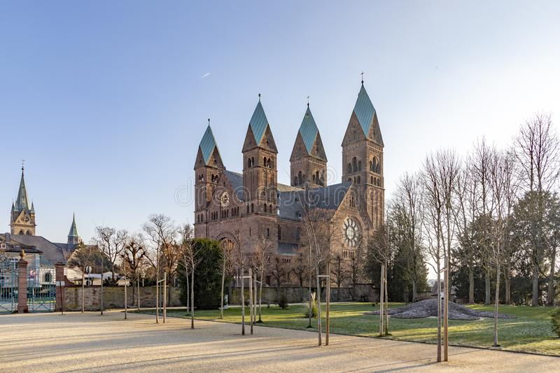 Church of Redeemer in Bad Homburg, Germany. Church of the Redeemer in Bad Homburg, Germany royalty free stock photo