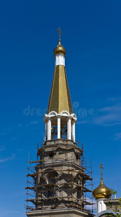 Download Church restoration stock photo. Image of cupola, russian - 20559100