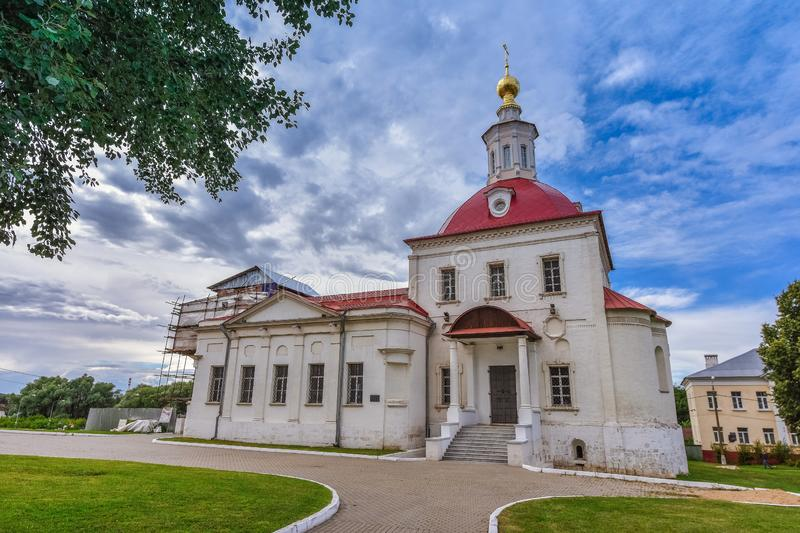 Church of the Resurrection of Christ in Kolomna on the Cathedral Square of the Kolomna Kremlin stock photos