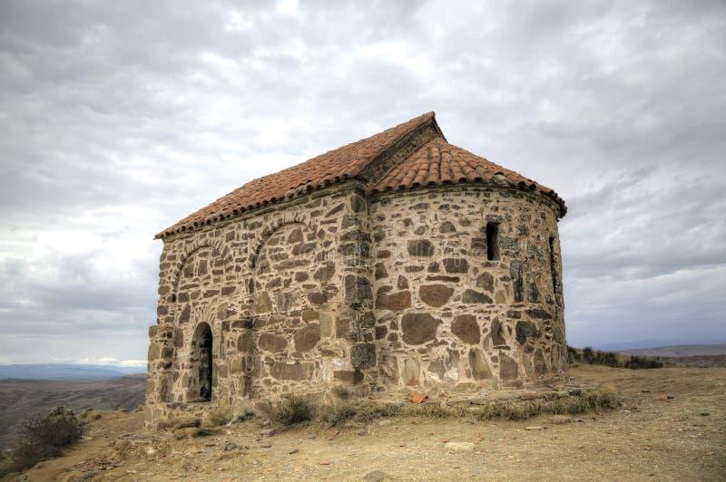 Church of the Resurrection. Monastery Udabno. Kakheti. Georgia stock photos