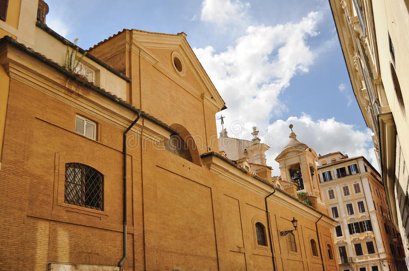 Church in Rome, Italy royalty free stock photography