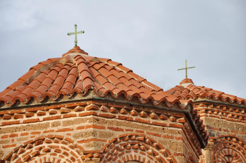 Download Church roof and facade stock photo. Image of roofs, crosses - 9512390