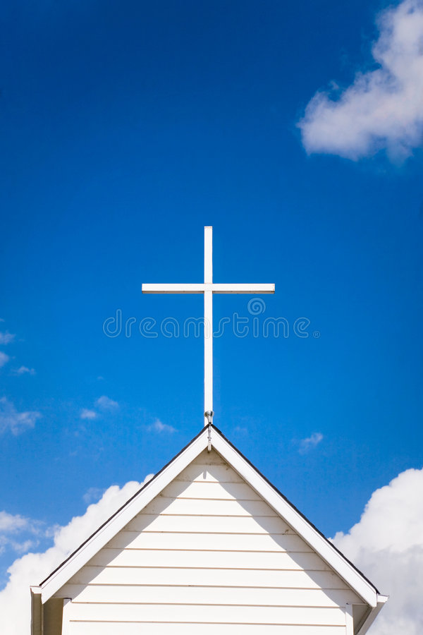 Church Roof Top royalty free stock images