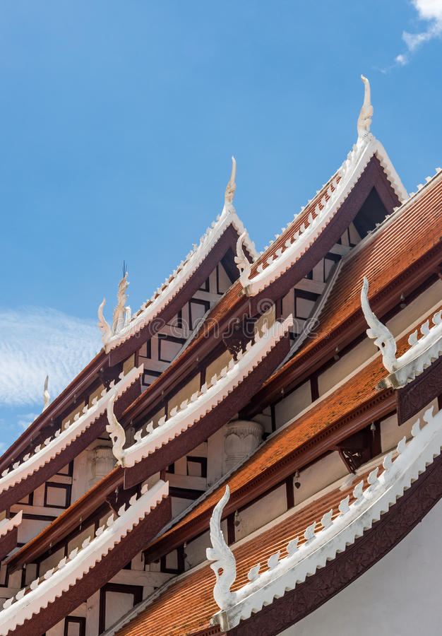 Traditional Thai Style Church Stock Photo Image Of