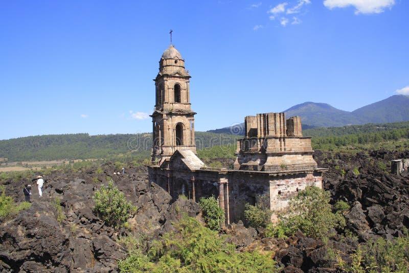 Church ruins royalty free stock photos
