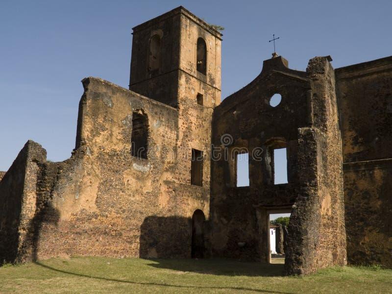 Church ruins royalty free stock photo