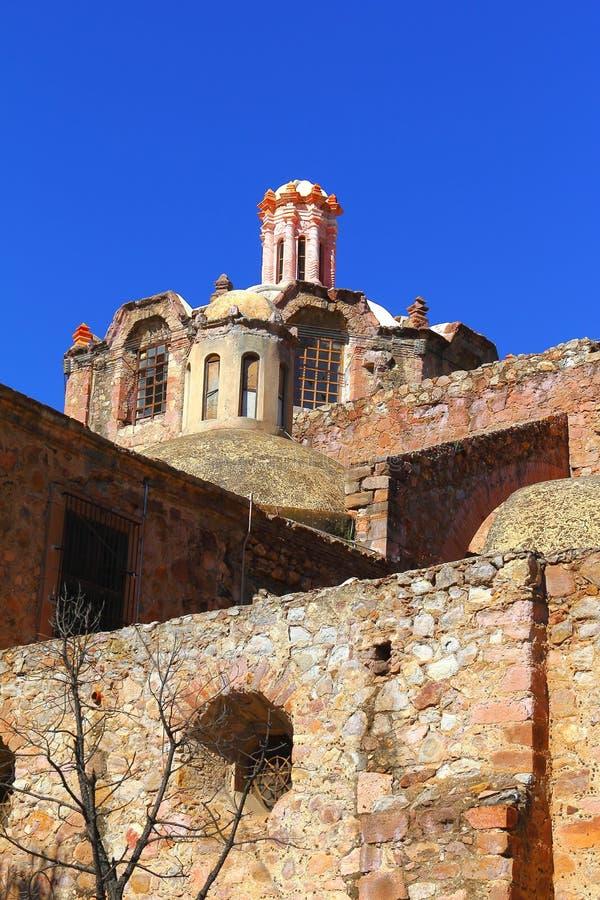 Church in ruins V royalty free stock photo