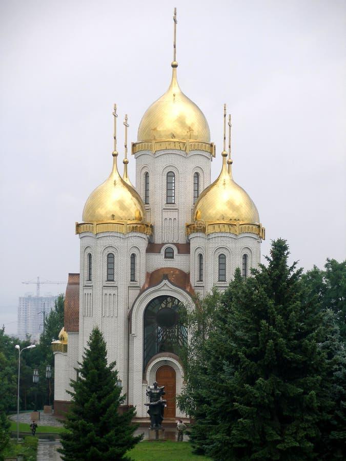 Church. Russia, Volgograd stock image