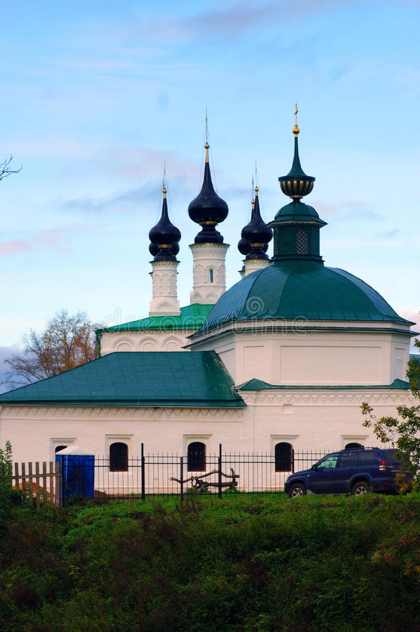 Download Church In The Russian City Of Suzdal In Autumn At Sunset Stock Photo - Image: 41445110